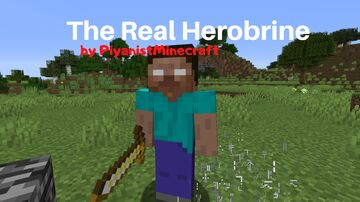 The Real Herobrine 1.15.2 (Needs Forge 31.2.0) Minecraft Mod
