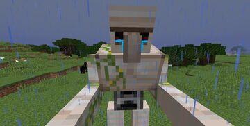 SummonabIe Mutant lron GoIems. Minecraft Mod