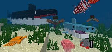 OCEANCRAFT PE ADDON Minecraft Mod