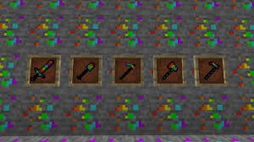 Super rainbow tools (1.15.2) Minecraft Mod