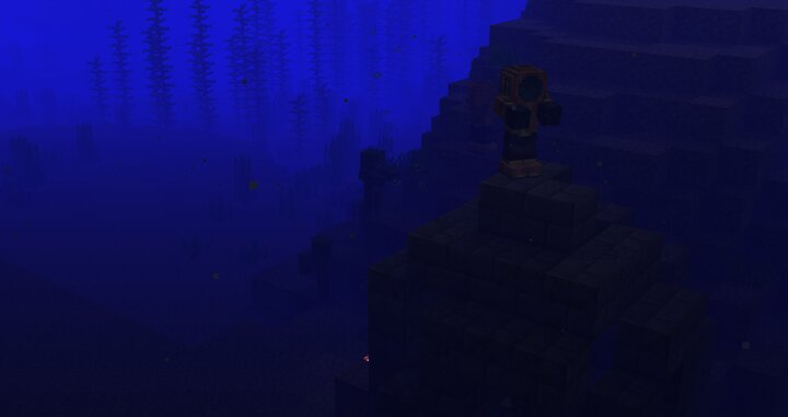 Scuba Drowned - Some Drowned near an Ocean Ruin.