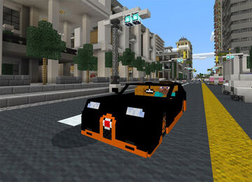 Bugatti Veyron Grand Super Sport Addon Minecraft Mod