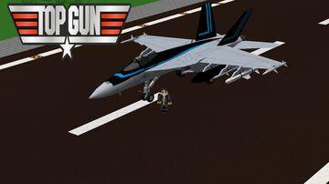 Topgun Fan pack for mcheli 1.7.10 Minecraft Mod
