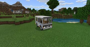 PAZ 3205 addon - Russian Bus Minecraft Mod