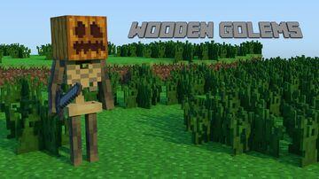 Wooden Golems (1.14.4) Minecraft Mod