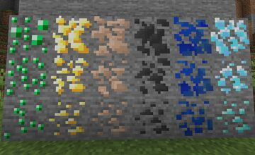 Different Ore levels Minecraft Mod