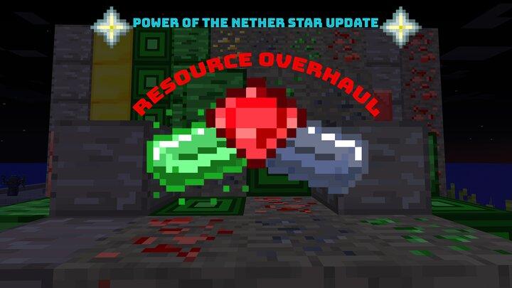 Popular Mod : Resource Overhaul [1.8, 1.9, 1.10, 1.12]