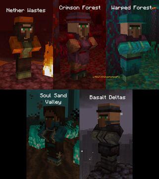 Extra Villagers (Bedrock addon) Minecraft Mod