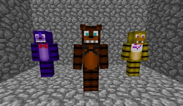 The FNaF Project Minecraft Mod