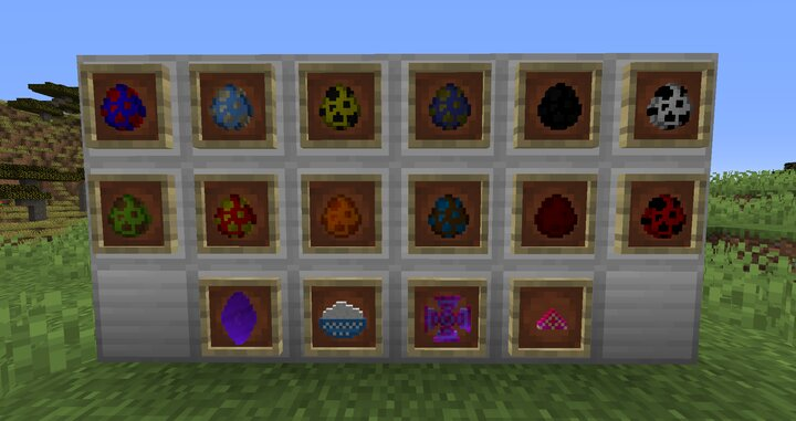 Twelve Of The Various Mobs, Including The Four Boss Spawners