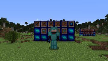 Warpons and armor+ Minecraft Mod