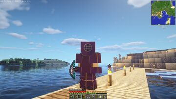 Shipwrecks mod, Diving Suit Patch. Minecraft Mod