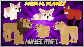 ANIMAL PLANET MOD 1.14.4 AND 1.12.2 (VERSION MOD 1.1.0) Minecraft Mod