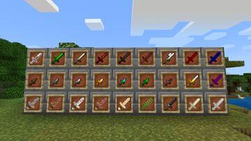 more swords addon Minecraft Mod