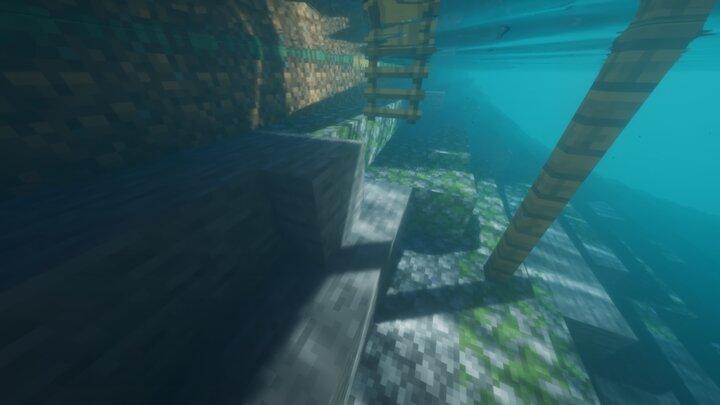 The slabs even work underwater!