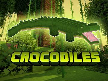 Crocodiles Mod Minecraft Mod