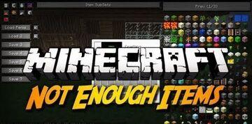 NotEnoughItems Mod Minecraft Mod