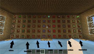 vegetalium Minecraft Mod