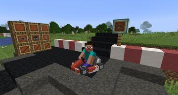 Race Cars! Minecraft Mod