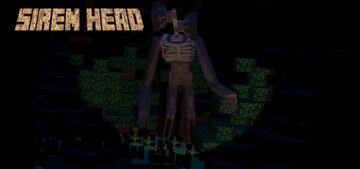 siren head v2 addon (fixed) Minecraft Mod