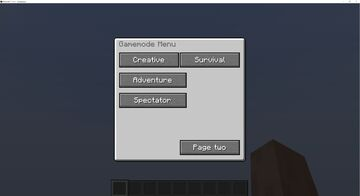 The Command Menu Minecraft Mod