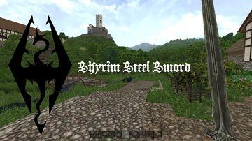 SKYRIM - Steel Sword [1.10.2] Minecraft Mod