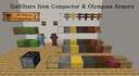 Item Compactor and Olympian Armors (1.12.2, 1.14.4, 1.15.2) Minecraft Mod