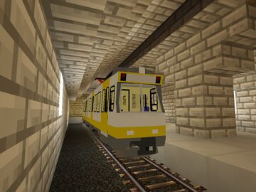 Metro in Motion Minecraft Mod
