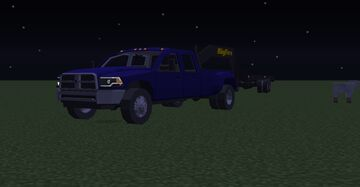 Heavy Truck Pack- FVTM Addon. Pickups + Trailer in Minecraft. [1.12.2 Forge] Minecraft Mod
