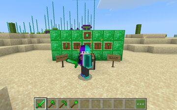 The Emerald Mod Minecraft Mod