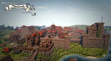 Medieval Style Pack for Minecolonies ( MC 1.15.2) Minecraft Mod