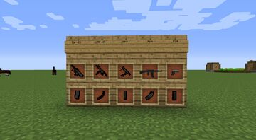 More Weapons Pack For Flans Mod 1.7.10 Minecraft Mod