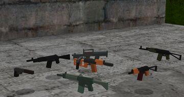Flan's mod: S.T.A.L.K.E.R. Content Pack Minecraft Mod