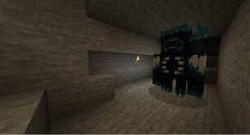 Warden Mob Minecraft Mod