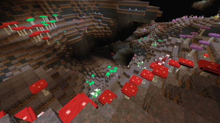 Mushroom Cave biome