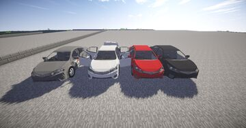 MCHELICOPTER 1.0.4 1.7.10 PERSONAL CAR PACK PRE Release Minecraft Mod