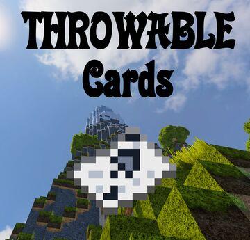Throwing Cards Minecraft Mod