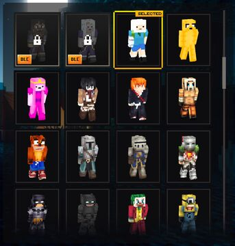 Too Many Outfits Now with Capes [Minecraft Dungeons Mod] Minecraft Mod