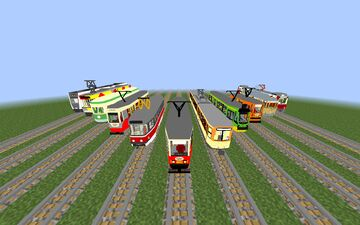 Trams in Motion Minecraft Mod