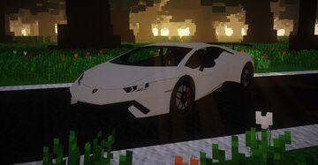 Lamborghini Huracán Performante | MCHeli Content Minecraft Mod