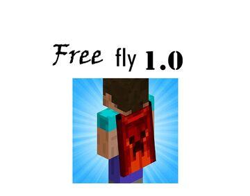 FreeFly 1.0 Minecraft Mod