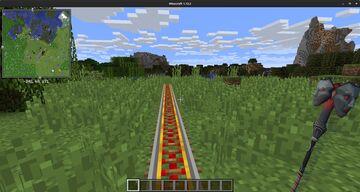 Rail Wand Minecraft Mod