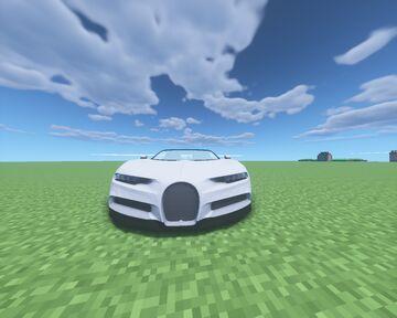 Bugatti Chiron | MCHeli Content | Бугатти Широн | Аддон к MCheli Minecraft Mod