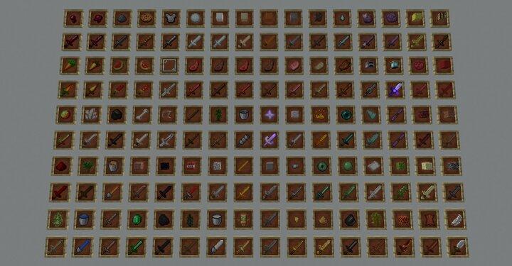 100 Swords to Craft
