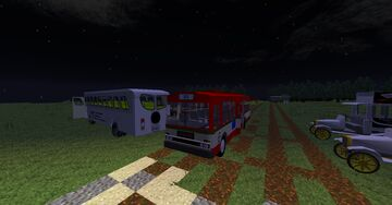 MCHelicopter 1.0.4 1.7.10 Transporttycoon Bus and Truck Pack pre Alpha Minecraft Mod