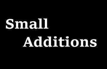 Small Additions Minecraft Mod