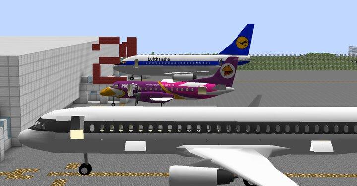 737, a320, saab340