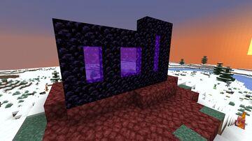 Smaller Nether Portals Minecraft Mod