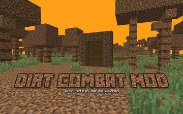Dirt Combat Mod Minecraft Mod