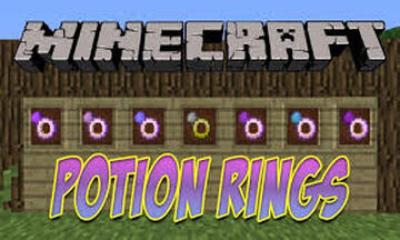 Potion rings Minecraft Mod